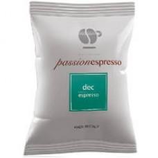 100 Capsule Lollo caffè PASSIONESPRESSO  DEK compatibili macchine Nespresso