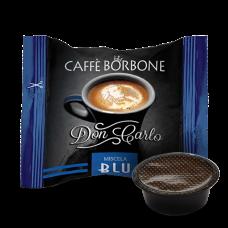 100 Capsule CAFFE' BORBONE Miscela BLU DON CARLO Compatibili Lavazza A Modo Mio