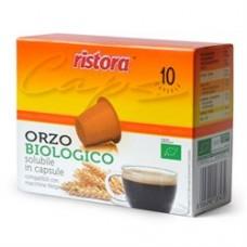 60 cialde capsule ORZO BIOLOGICO RISTORA COMPATIBILI NESPRESSO