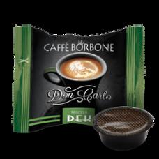 100 Capsule Caffè Borbone Don Carlo Miscela DECAFFEINATO compatibile Lavazza a Modo Mio