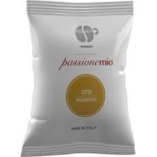 100 Capsule Lollo caffè PASSIONEMIO  miscela oro compatibili macchine LAVAZZA  A MODO MIO