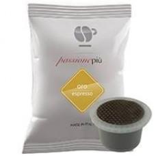 100 Capsule Lollo caffè PASSIONEPIU oro compatibili macchine UNO SYSTEM