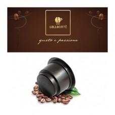 150 Capsule Lollo caffè miscela nera compatibili CAFFITALY - Spedizione GRATIS