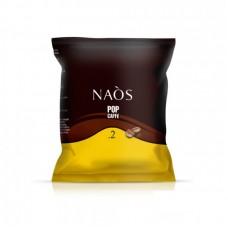100 Capsule Cialde POP CAFFÈ NAÒS Miscela CREMOSO Compatibili NESPRESSO